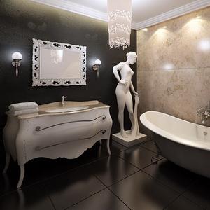Стили ванной комнаты — статьи