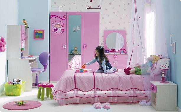 Детская комната для девочки варианты