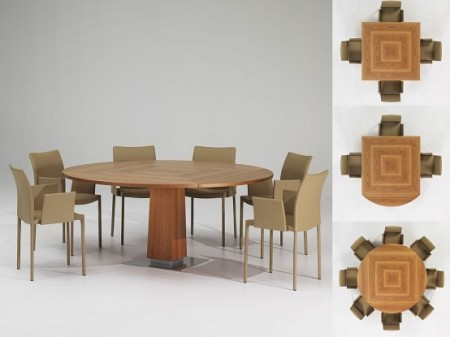 Expandable dining room tables modern