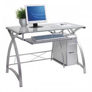 компьютерный стеклянный стол фото