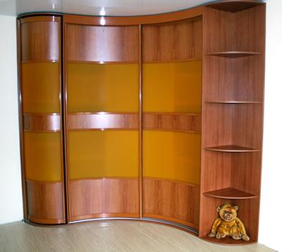 Радиусные шкафы-купе или прямые: какой выбрать? - статьи - м.