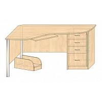 Стол угловой компьютерный - версия для печати - мебель66.