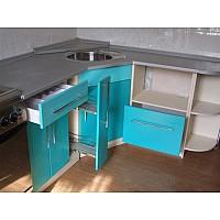 Кухонные гарнитуры бирюзового цвета