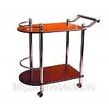 VT-S-02 Сервировочный столик (темный орех)