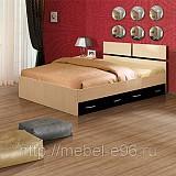 Кровать с выкатными внутренними ящиками АС-М