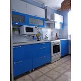 Кухня на металлокаркасе №1
