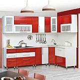 АМ-Кухонный гарнитур «Ника» (фасад-Мыло) 2.6×1.6 угловая МДФ