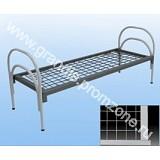 Кровать металлическая медицинская 1900х700, спинки 2  дуги