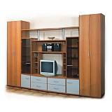Комплект корпусной мебели для гостиной «АЛЬФА»