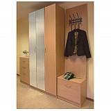 Комплект корпусной мебели для прихожей «Визит»