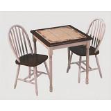 Стол обеденный деревянный с плиткой 3030