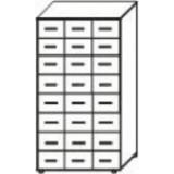 Шкаф картотечный на ножках ШК-01н