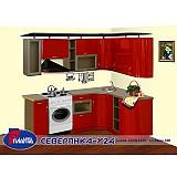 Кухня «Северянка-Угловая 24»