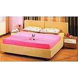 Кровать «Пальмира» 4-42160 с мягкими подушками.