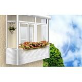 Остекление балкона, алюминиевый профиль